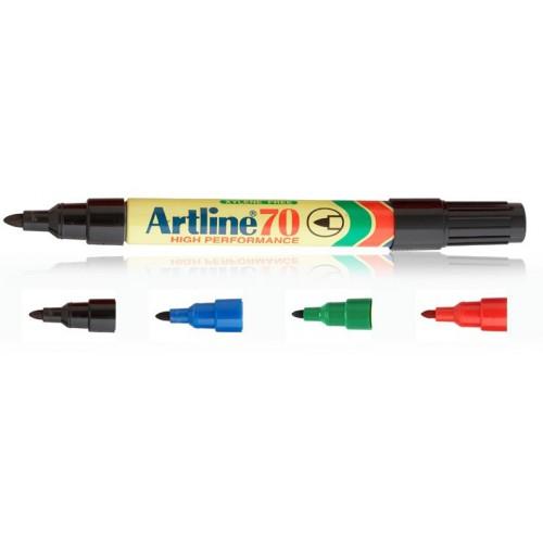 b117d714349e ... vízálló, 1 - 2 mm csúcsos alkoholos filc toll - Narancssárga - Artline  ...