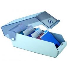 40 darabos Floppy és mini CD tartó kulccsal zárható doboz - Eagle 3802