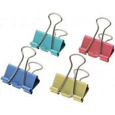 Iratcsipesz binder csipesz 25mm -es színes - Iratcsipeszek - Binder kapocs