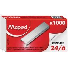 Maped Standard tűzőkapocs 24/6 - 1000 darab - Tűzőgépkapocs