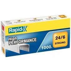Rapid Strong extra erős tűzőkapocs 24/6 1000 darab