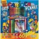 Színező és kifestő készlet 60 darabos Carioca Planet - Carioca filctoll