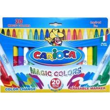 Carioca mágikus filctoll készlet 20 db-os - Színváltó filctoll szett