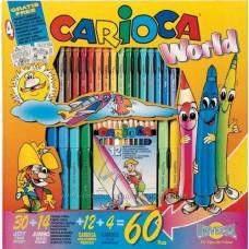 Kifestő és szinező gyerekeknek 60 darabos - Carioca World