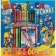 Kifestő és színező gyerekeknek 60 darabos készlet - Carioca Planet