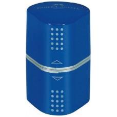 Faber Castell Grip - Kék - tartályos ceruzahegyező tripla ceruza hegyező