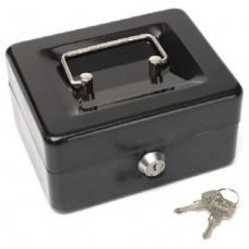 Pénz kazetta és aprópénztartó - Fekete - Legkisebb méret - Zárható doboz kazetta - Pénzkazetták - 8878XS