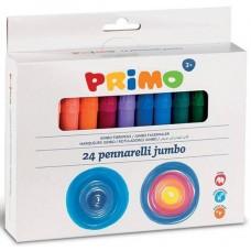 Primo Jumbo vastag filctoll készlet 24 színű - Kimosható