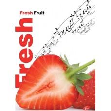 Füzet A4 gyümölcs mintás 40 lap vonalas - Eper - Elisa