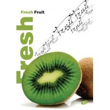 Füzet A4 gyümölcs mintás 40 lap vonalas - Kiwi - Elisa