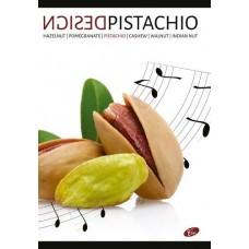 Füzet A4 design 40 lap sima - Pisztácia mintával - Elisa