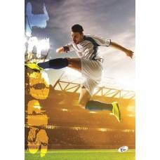 Füzet A4 mintás 40 lap vonalas - Sport foci - Elisa