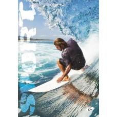 Füzet A4 mintás 40 lap vonalas - Sport szörfös - Elisa