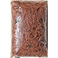 Gumigyűrű 40/1,5 mm para (Posta gumi) 1 kg - Natúr barna