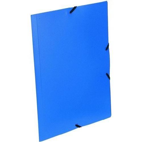 2914afd65488 Gumis irattartó mappa - Kék - Műanyag (PP) iratgyűjtő A4 mappa Ft Ár 199