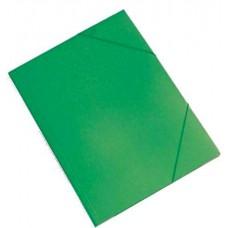 Irattartó mappa gumis - Zöld - Műanyag (PP) iratgyűjtő A4 mappa