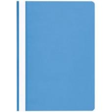 Gyorsfűző mappa A4 PP - Világos kék - Műanyag Fornax gyorslefűző