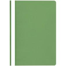 Gyorsfűző mappa A4 PP - Zöld - Műanyag Fornax gyorslefűző