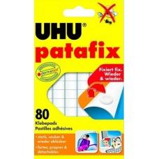 UHU Patafix gyurmaragasztó 80 darabos - Öntapadó és eltávolítható