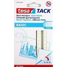 Tesa Tack Basic öntapadó gyurmaragasztó 65 darab 35 gramm