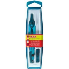 Herlitz tűvédős körző készlet 2 darabos - Világos kék