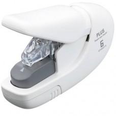 Kapocs nélküli tűzőgép - Fehér - 5 lap - Plus Japan