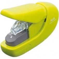 Tűzőgép kapocs nélküli - Sárga - 5 lap - Plus Japan