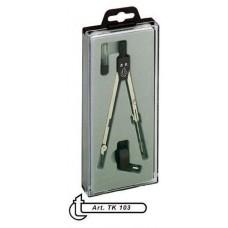 Körző készlet törhető szárú 3 darabos ( 1 körző ) TK103