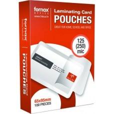 Lamináló fólia 65x95 125 mikron 100 db - TB kártya lamináló fólia