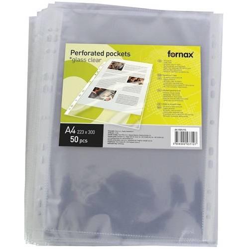 Fornax víztiszta lefűzhető vastag genotherm A4 - 130 mikron - 50 db