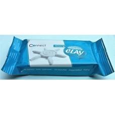 Levegőn száradó gyurma fehér, festhető - Connect 450 gramm