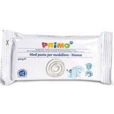 Primo levegőre száradó gyurma fehér, festhető -  500 gramm