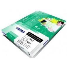 Rayfilm 105 mm x 48 mm nyomtatható öntapadós etikett címke A4 méret, 100 íves - Címkék