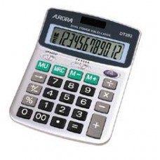Asztali számológép 12 számjegyes, döntött kijelzővel DT392 Aurora - Számológépek