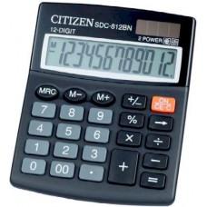 Asztali számológép 12 számjegyes, döntött kijelzővel Citizen SDC-812BN - Számológépek