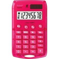 Rebell Starlet napelemes zsebszámológép 8 számjegyes, 3 év garancia! Piros Pink