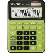 Sencor SEC-372T/GN asztali számológép 12 számjegyes, nagy kijelzővel - zöld