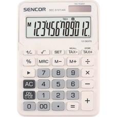 Sencor SEC-372T/WE asztali számológép 12 számjegyes, nagy kijelzővel - fehér