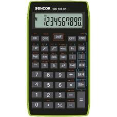 Iskolai tudományos számológép 8+2 számjegyes Sencor SEC 105GN - Zöld