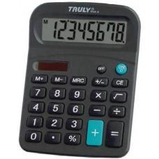 Asztali napelemes számológép 8 karakteres Truly 814B-8