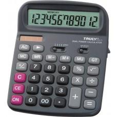 Nagy asztali számológép 1 2 karakteres Truly 836A-12