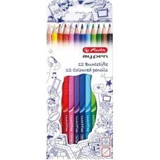 Herlitz ® My•Pen színesceruza készlet 12 darabos