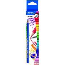Lyra Osiris 6 darabos színes ceruza háromszögletű