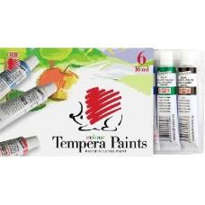 Ico süni színes tempera készlet 6 színű 16 ml alumínium tubusban  - Tempera készlet
