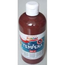 Pentart barna tempera festék 500 ml műanyag flakonban - Pentart Junior 6489