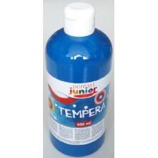 Pentart kék tempera festék 500 ml műanyag flakonban - Pentart Junior 6491
