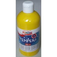 Pentart sárga tempera festék 500 ml műanyag flakonban - Pentart Junior 6484