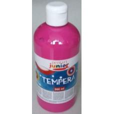 Pentart magenta tempera festék 500 ml műanyag flakonban - Pentart Junior 6487