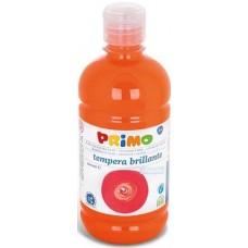 Primo narancssárga tempera festék 500 ml műanyag palackban - 250