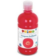 Primo skarlátpiros tempera festék 500 ml műanyag palackban - 380